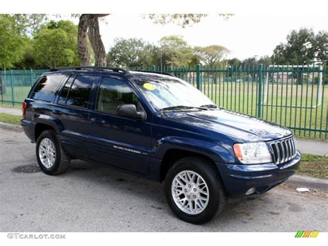 cherokee jeep 2003 patriot blue pearl 2003 jeep grand cherokee limited 4x4