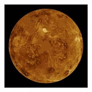 Venus Solar System Planet Pioneer Orbiter Posters | Zazzle