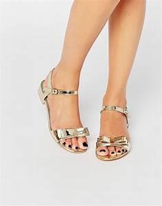 Goldene Sandalen Mit Absatz Kat Maconie Gretchen Silber