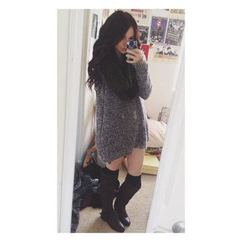leg l sweater sweater boots brown boots gorgeous acacia brinley