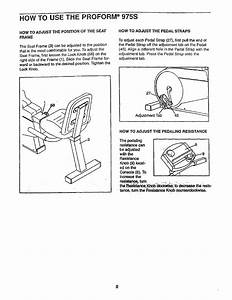 Proform 831288283 User Manual Sears 975s Cycle Manuals And
