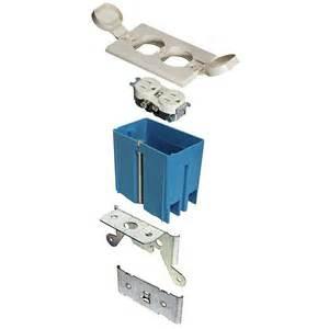 1 gang 21 cu in adjustable floor box ivory b121bfbrr