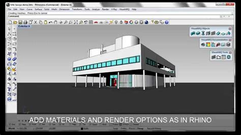 Visualarq 1, Architecture Tools For Rhino (overview)