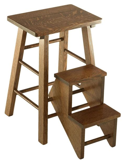 amish made hardwood kitchen step stools