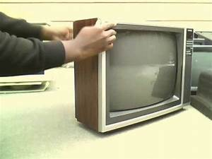 I Found A 1980 U0026 39 S Sharp Linytron Crt Television Set