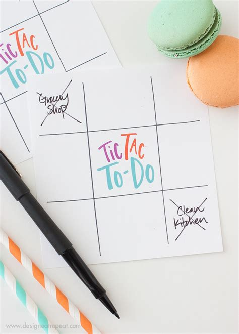 5 Free, Cute & Creative To Do List Printables - thesassylife