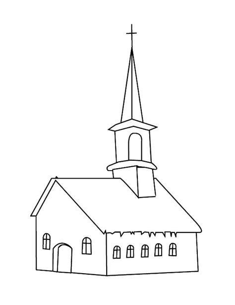 church coloring pages drawing church coloring pages drawing church coloring