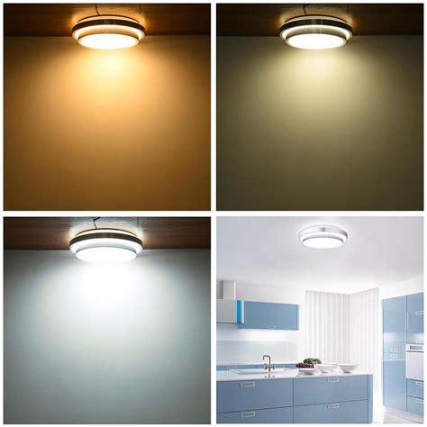 led ceiling light flush mount fixture lamp