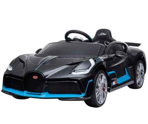View photos, features and more. Kids Ride On Car Electric 12V Bugatti Divo -Black - HawkMoto