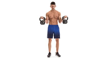kettlebell exercises workout biceps triceps curl arm workouts muscle fitness standing styles tweet blast