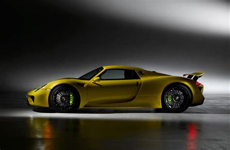 porsche spyder yellow scrumptious porsche 918 spyder in yellow