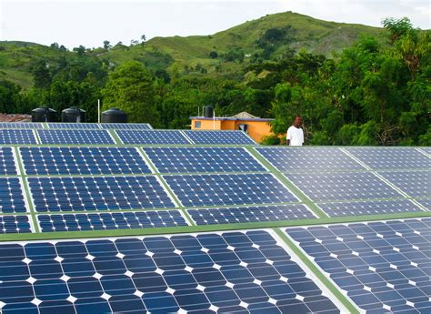 solar brings light to haiti