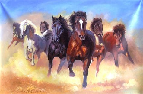 horses painting luck arts yokami paintings 30th october which uploaded