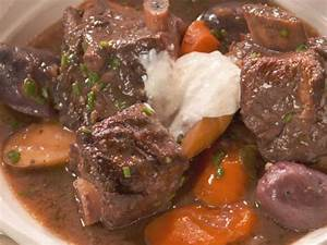 Short Rib Stew With Vegetables And Port Recipe Nancy
