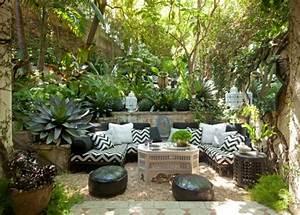 25 idees pour amenager et decorer un petit jardin With superior amenagement petit jardin exotique 4 comment amenager un petit jardin idee deco original