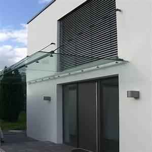 Vordach Glas Edelstahl : vordach aus glas mit rohrrahmen aus edelstahl ~ Whattoseeinmadrid.com Haus und Dekorationen