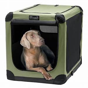soft sided portable dog crate frontgate With portable travel dog crate