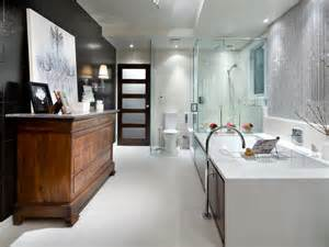 hgtv bathroom ideas black and white bathroom designs hgtv