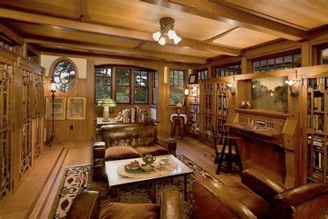 Elegantly Crafted Interior by Warmth Of Modern Craftsman Interior Modern House Plan