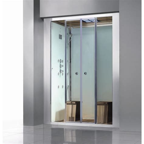 Steam Shower Enclosure by Athena Deluxe 2 Person Steam Shower Enclosure Kit With