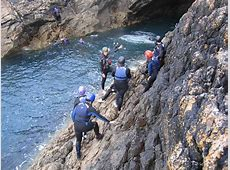 Coasteering in Pembrokeshire 🌊 Wales home of coasteering in the UK