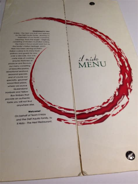 il cuisine il nido the nest restaurant sydney