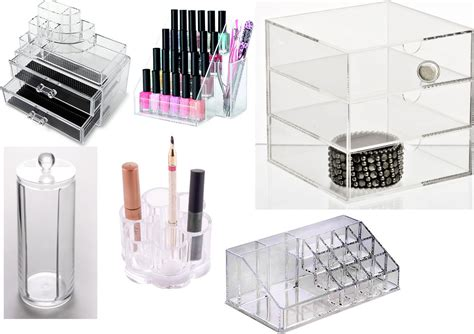 Acrylic Makeup Storage From Ebay (uk Sellers) 3m Underdesk Keyboard Drawer Modern Chest How To Make A Cash Ready Made Of Drawers White Replacement Fronts Kitchen Unit On Castors Plastic Bins