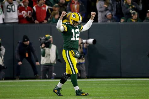 packers  ers  rodgers leads fourth quarter comeback