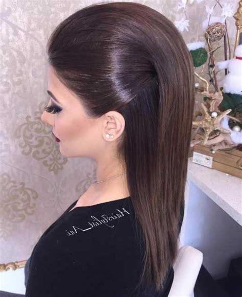 penteados lisos faceis  bonitos fotos  passo  passo