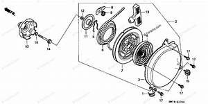 Honda Atv 1997 Oem Parts Diagram For Recoil Starter