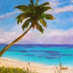Easy Beach Paintings On Canvas