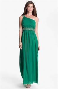 long green bridesmaid dress bitsy bride With long green dress for wedding