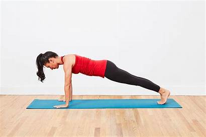 Yoga Chaturanga Dandasana Poses Strength Beginner Strip