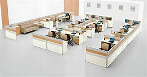 Modern Wooden Chinese Manufacturer H Shape Office Workstation Design Layout System  Sz