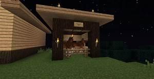 minecraft horse stable design