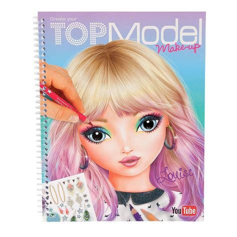 Create Your Topmodel Makeup Tekenboek Online Kopen