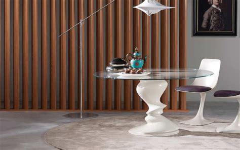 salle de bain roche bobois roche bobois table blanche ronde en verre sismic photo 4 20 une table de repas pour