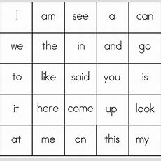 Site Words Bingo! Adding This One To The Mix Todayfun Learning Idea!  Kids Activities