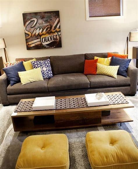 canapé originaux idées d 39 oreillers et coussins de sol pour votre intérieur