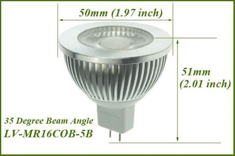 Narrow Beam Angle 35 Degree Mr16 12v Led Bulbs Light