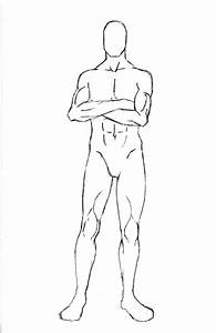 manga character template - male character pose 7 by one with no color on deviantart