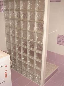 cuisine cloison en briques de verre bricolage avec robert With cloison en carreau de verre