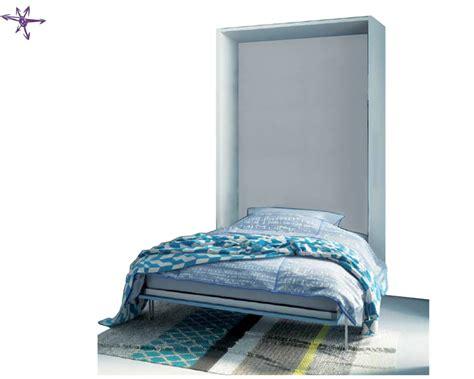 letto piazza  mezza ribaltabile  verticale  pouf letto