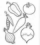 Vegetables Coloring Fruits Pages Fruit Drawing Different Types Vegetable Cornucopia Colouring Worksheet Drawings Crafts Kinds Draw Printable Sheets Preschool Worksheets sketch template