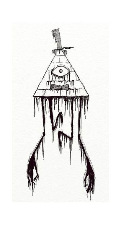 Drawing Gravity Falls Creepy Tattoos Tattoo Bill