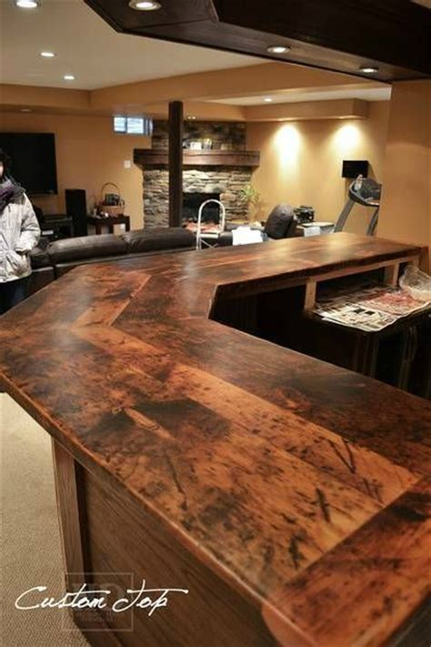 44 Reclaimed Wood Rustic Countertop Ideas  Decoholic. Woods Basement. Basement Stairs Storage. Basement Post Ideas. Egg Smell In Basement. Basement Renovation Tips. Best Way To Waterproof A Basement. What Flooring Is Best For Basement. Affordable Dry Basement