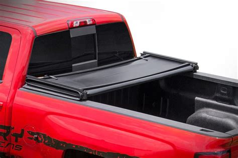 2244 tri fold bed cover soft tri fold bed cover for 2015 2018 chevrolet colorado