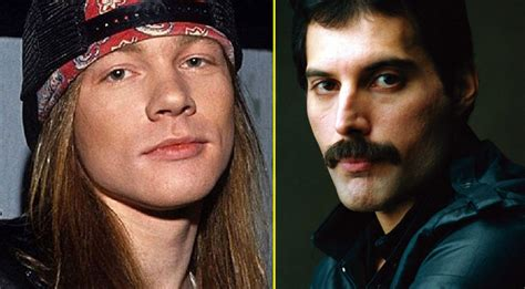 axl rose still alive if given the chance axl rose would thank freddie mercury