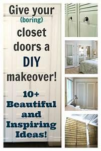 DIY Closet Doors - 10+ Beautiful and Inspiring Ideas