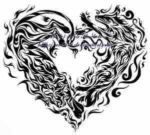 Cool Heart Designs Tribal - ClipArt Best - ClipArt Best